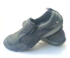 Merrell Slip on Walking Hiking Shoes Women's Sz 8M Black Leather (tu27)