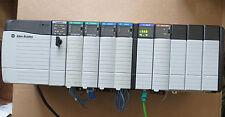 Allen Bradley ControlLogix 1756-L55M13 PA75/B A10/B OB16Ex2 IB16x2 ENBT,IF8 Used