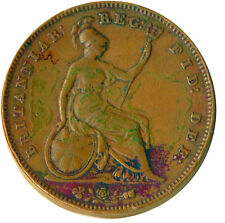 1855 ONE PENNY / QUEEN VICTORIA / GREAT BRITAIN VERY NICE   #WT12601