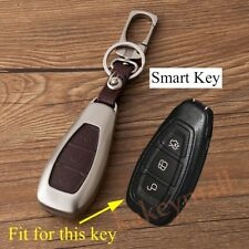Remote Key Case Bag Fob Holder Box For Ford Focus Fiesta Kuga Escape Accessories