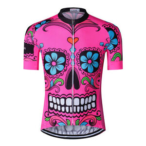 Men's Cycling Jersey Bicycle Short Sleeve Shirt Cycling Clothing MTB Bike Top
