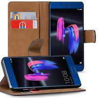Handy Hülle für Honor 9 Case Schutz Tasche Cover Basic Flip Etui Bookcase