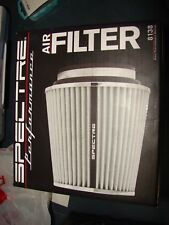 """SPECTRE Air Filter 6.7 in Tall - 8138 Cone Filter 3"""", 3.5"""", 4"""" White"""