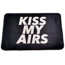 Kiss My Airs Mat Black Mat. Sneakers.