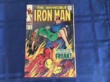 The INVINCIBLE IRON MAN.  #3. 1968.  $0.12. Marvel comic