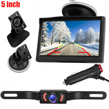 "Vehicle Waterproof Night Vision Back up Camera and 5"" Monitor Kit for Rvs Truck"