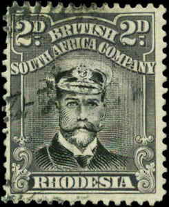 Rhodesia Scott #122 Used