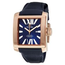TW Steel CEO Goliath Rose Gold SWISS MADE Leather Watch 36mm Unisex CE3017
