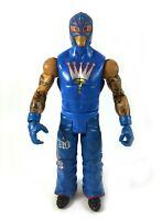 Rey Mysterio WWE Mattel Battle Pack Series 22 Basic Action Figure Blue Gear 619