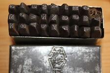 alte 3 mm Schlagbuchstaben  Oldtimer,Motorrad,Zündapp,BMW Schlag Buchstaben