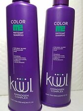 2 KUUL AMINOGEN COLOR ME MATIZANT SHAMPOO FOR GRAY BLOND OR BLEACHED HAIR 10.1 F