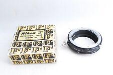 Genuine Nikon F extension ring tube E2 with box