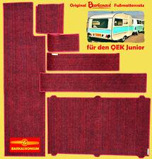 BARKONAUT Fußmattenset für QEK Junior / 6-teiliges Teppichset / umkettelt