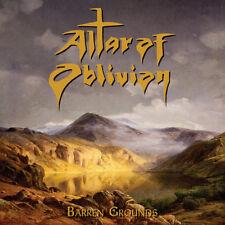 ALTAR OF OBLIVION - Barren Grounds (NEW*EPIC POWER/DOOM METAL*SOLITUDE AETURNUS)