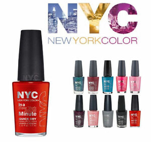 "NYC Color Minute Nail Polish,""CHOOSE YOUR SHADE!"""