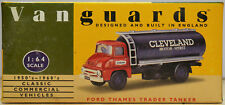 Vanguards by Lledo 1:64 VA9002 Ford Thames Trader Tanker Cleveland - NMIB