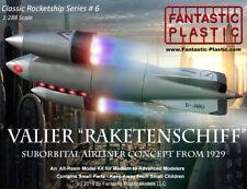 """Valier """"Raketenschiff"""" German Suborbital Airliner Concept (1929) 1:144 Resin Kit"""