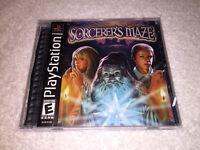 Sorcerer's Maze (Sony PlayStation 1, 2003) PS1 Black Label Complete Excellent~