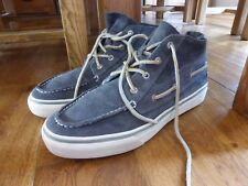 Men's Sperry Top Sider grey suede Bahama chukka ankle boots US 11 UK 10