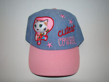 NWT Disney Official Sheriff Callie Cutest Cowgirl Child Girl Hat Cap Adjustable