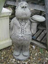 Butler stone garden ornament