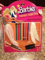 Mattel Vintage Barbie Doll Night & Day Extras #2462 NRFB RARE 1980