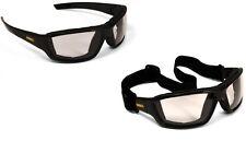 Dewalt Converter Safety Glasses Goggles In/Outdoor Anti Fog Lenses Foam Padded