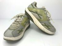 MBT M. Walker Silver Walking Shoes Womens Size 11 Sneakers Toning Trainer