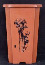 Bonsai Schale - Kunststoff - 23 x 23 x 35 cm rotbraun - ideal zur Anzucht
