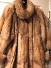 SABLE RUSSIAN 2019 ROYAL BARGUZIN NEW TAGS Brown Silver coat Brooch 700gr $58K