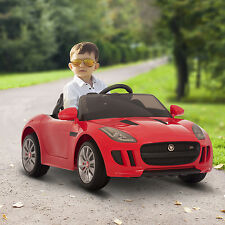 Jaguar F-Type 12V Kids Ride On Car Electric Toy Battery Remote Control Mp3 Red