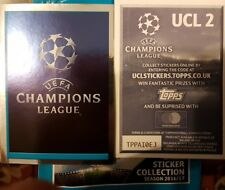 UEFA CHAMPIONS LEAGUE 2016-2017 FULL SET OF STICKERS X592 NUMBERS