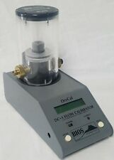Bios International DryCal DC-1B Flow Calibrator & DC-1SC Cell w/ New Battery