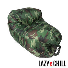 Lazy and Chill Inflatable Camping and Festival Chair – No Pump Required