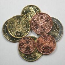 Pièces euro d'Autriche Année 2002