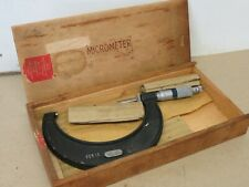 Moore & Wright No. 966M 75 - 100mm External Outside Micrometer ME3011