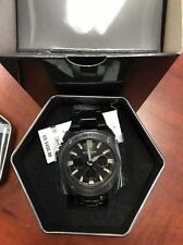 NEW G-SHOCK GSTS130BD-1A G-STEEL TOUGH SOLAR BLACK PLATED STAINLESS STEEL