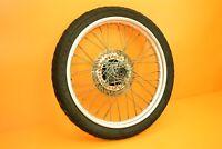 88-89 1989 NX650 NX 650 Front Wheel Rim Tire Hub Spokes Rotor Assembly 21x1.85