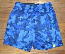 Tek Gear Performance Basketball Short Wicking CoolTek Fabric Blue Camo Shorts