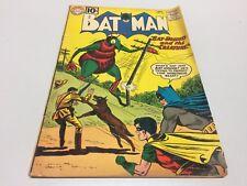 BATMAN #143! DC Comics - 1961! Last 10 Cent Issue! Unrestored!! VG+ Condition!