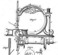Antique sewing machine: Singer,Wilson,Willcox&..1875-1884