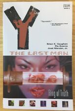 Y: The Last Man Vol. 5: Ring of Truth by Brian K. Vaughan Vertigo Comics New TPB