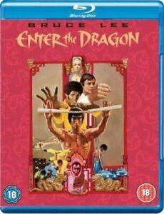 Enter The Dragon [Blu-ray] [1973] [Region Free] [DVD][Region 2]