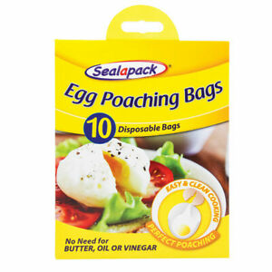 Egg Poaching & Slow Cooker bags for easy clean cooking with free shipping .