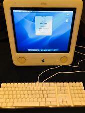 Apple eMac A1002 17in PowerMac PowerPC G4 800MHz 40GB Hard Drive