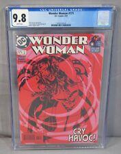 WONDER WOMAN #171 (Adam Hughes cover) CGC 9.8 NM/MT DC Comics 2001