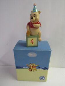 Disney Pooh and Friends Birthday Block 4 with Winnie the Pooh 4010015 MIB