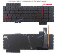Original New for Asus G752 G752VL G752VT G752VY laptop US UI backlit Keyboard