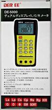 DER EE DE-5000 High Accuracy Handheld LCR Meter From Japan F/S