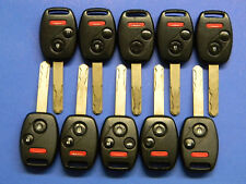 LOT OF 10 HONDA KEYLESS ENTRY REMOTE FOB OUCG8D-380H-A OUCG8D380HA